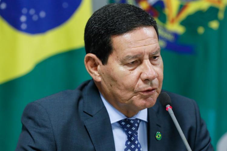 Hamilton Mourão disse que o governo brasileiro deve buscar ampliar o comércio com a China - Foto: Divulgação