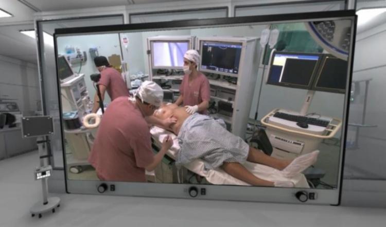 Trata-se, de acordo com o médico, de um projeto inovador para substituir o modelo tradicional de acompanhamento presencial de cirurgias | Foto: Divulgação - Foto: Divulgação