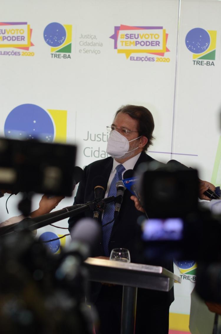 Jatahy Júnior anunciou a proibição de comícios, carreatas, passeatas, bandeiraços e caminhadas - Foto: Alex Oliveira / Ag A Tarde