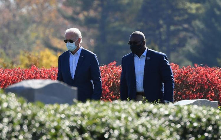 oe Biden se concentrou nos preparativos para a chegada à Casa Branca, neste domingo - Foto: ANGELA WEISS | AFP