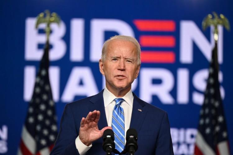 Joe Biden foi eleito 46º presidente dos EUA | Foto: Jim Watson | AFP - Foto: Jim Watson | AFP