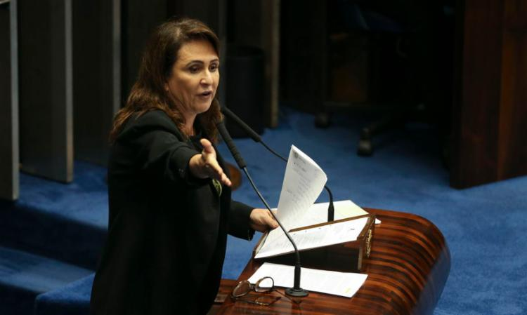 Senadora está internada no Hospital Sírio-Libanês | Foto: Valter Campanato | Agência Brasil - Foto: Valter Campanato | Agência Brasil
