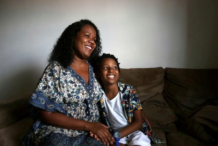 Elane Nascimento se orgulha da autoestima do filho João   Foto: Felipe Iruatã   Ag. A TARDE - Foto: Felipe Iruatã   Ag. A TARDE