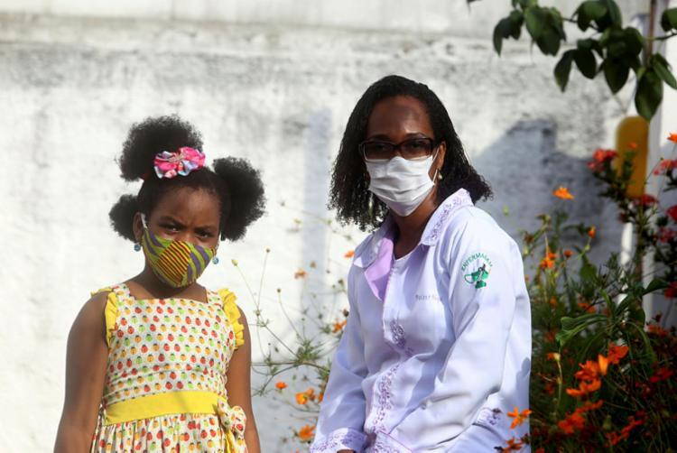 Desafio de Daiane Bispo é proteger Savannah do racismo   Foto: Felipe Iruatã   Ag. A TARDE