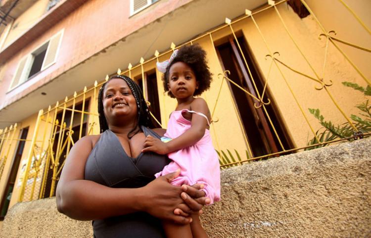 Leila Carvalho ensina Layanne sobre importância da autoaceitação   Foto: Felipe Iruatã   Ag. A TARDE