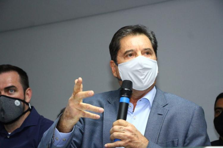 Maguito Vilela eleito prefeito de Goiânia aos 71 anos - Foto: Divulgaçao