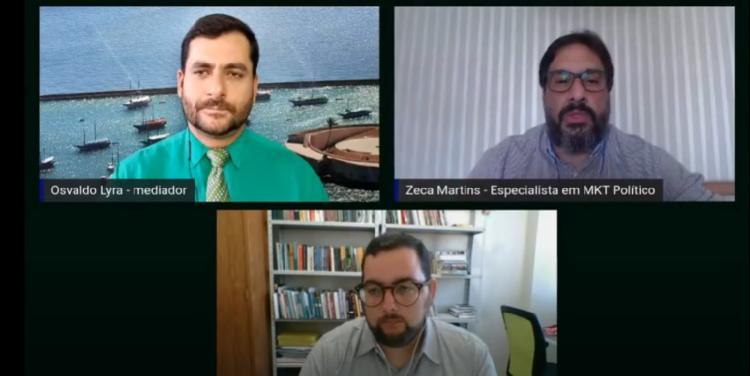 Mesa-redonda promovida pelo A TARDE debe cenários das eleições em Conquista e Feira de Santana - Foto: Reprodução