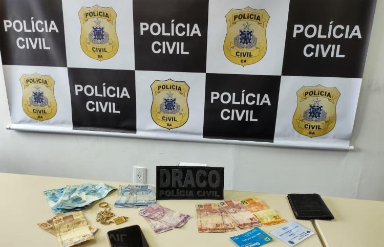Prisão aconteceu na manhã deste sábado | Foto: Divulgação | SSP - Foto: Divulgação | SSP