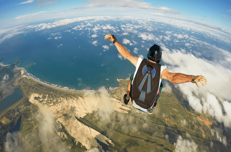 Revista vai trazer cobertura completa das atividades do Bahia Paraquedismo - Foto: Reprodução