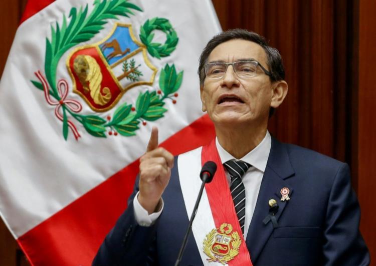 Martín Vizcarra Cornejo foi declarado com