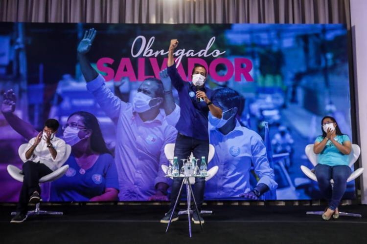Democratas foi o partido da oposição que mais elegeu prefeitos nesses municípios   Foto: Felipe Iruatã   Ag. A TARDE - Foto: Felipe Iruatã   Ag. A TARDE