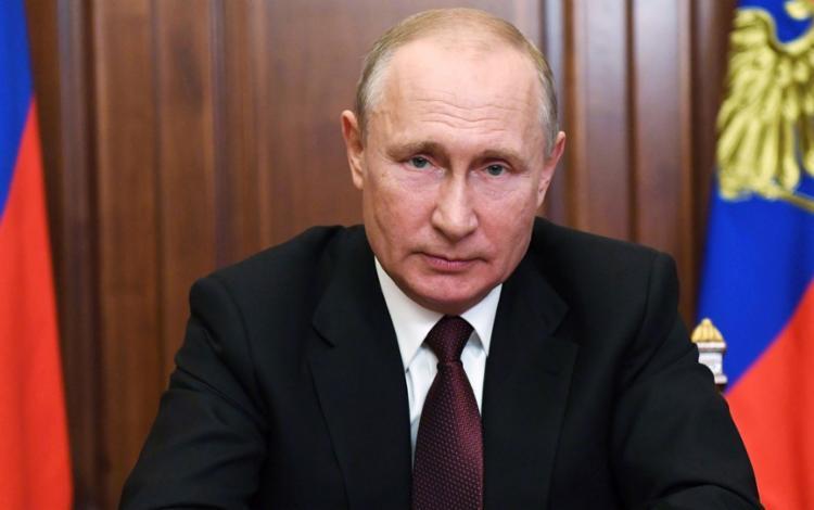 Presidente russo confirmou minutos após o anúncio do primeiro-ministro armênio | Foto: Alexey Nikolsky | Sputnik | AFP - Foto: Alexey Nikolsky | Sputnik | AFP
