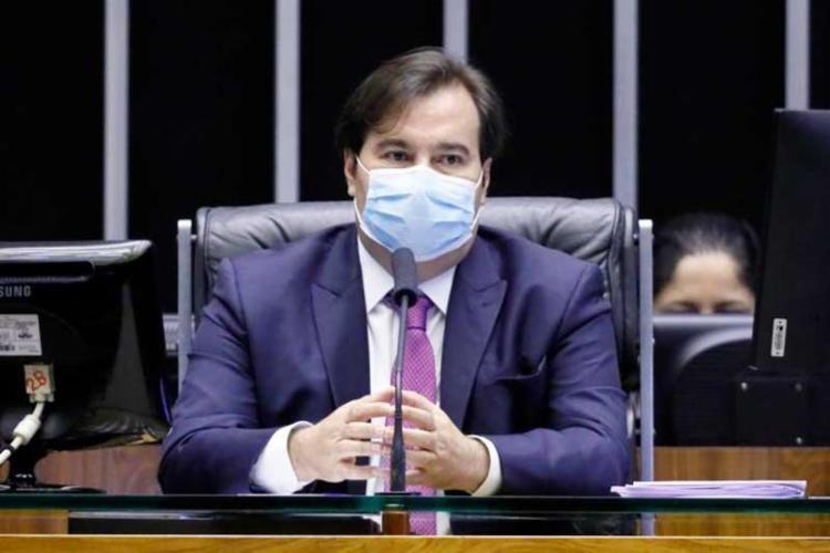 Maia acusou Pazuello de irresponsabilidade na defesa do tratamento precoce da Covid-19 - Foto: Najara Araujo | Câmara dos Deputados