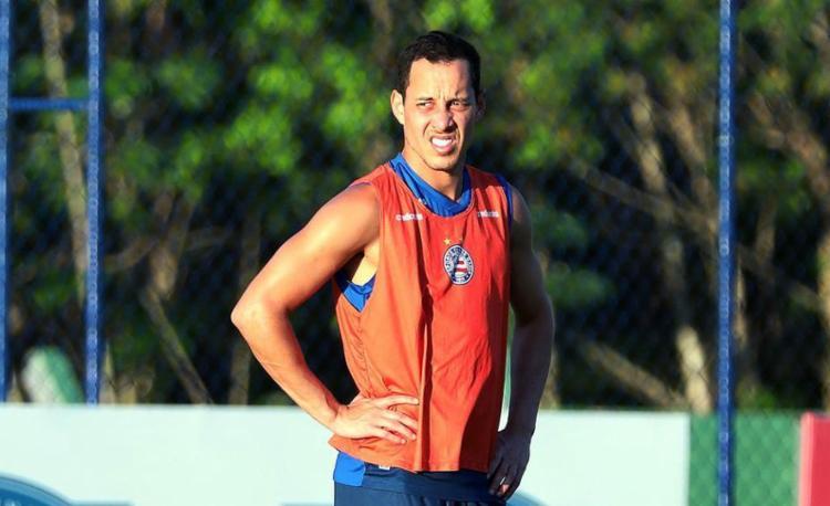 Experiente jogador voltará a ser titular depois de quase dois meses | Foto: Felipe Oliveira | EC Bahia - Foto: Felipe Oliveira | EC Bahia