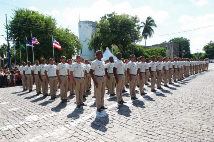 O certame para candidato a soldado da PM e Corpo de Bombeiros registrou 112,3 mil inscritos | Foto: Divulgação - Foto: Divulgação