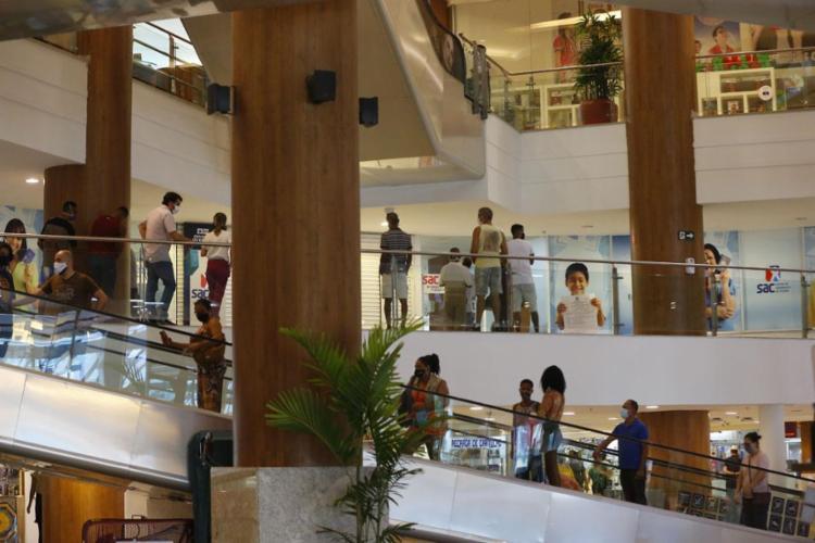Segundo o IBGE, o comércio baiano está em alta | Foto: Rafael Martins | Ag: A TARDE | 25.7.2020 - Foto: Rafael Martins | Ag: A TARDE | 25.7.2020