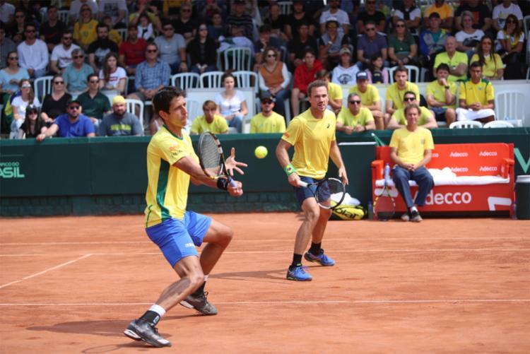 Brasileiros vencem na estreia e disputam vagas na semi na sexta   Foto: Luiz Candido   CBT - Foto: Luiz Candido   CBT