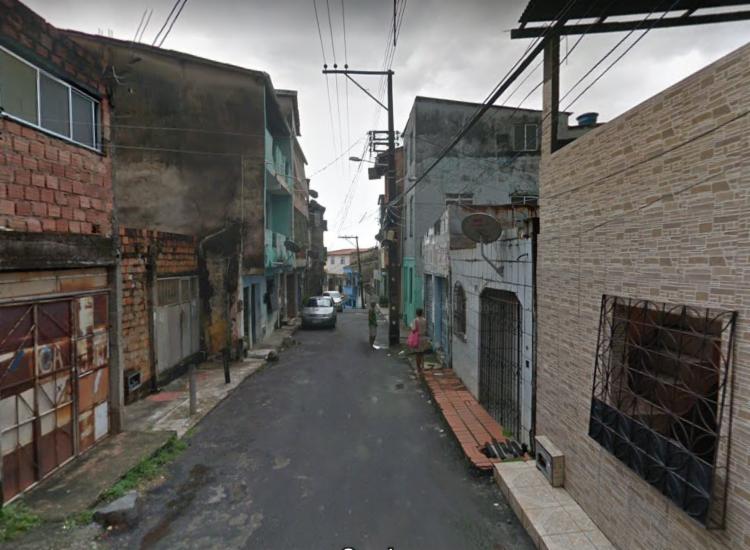 Caso aconteceu avenida Ferreira, no bairro de Pero Vaz | Foto: Reprodução | Google Street View - Foto: Reprodução | Google Street View
