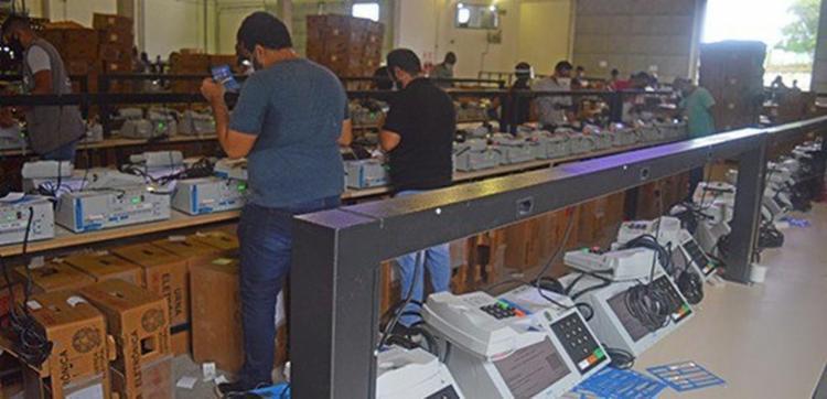 Ao todo, 4.344 urnas foram disponibilizadas nos municípios participantes do segundo turno - Foto: Divulgação | TRE-BA