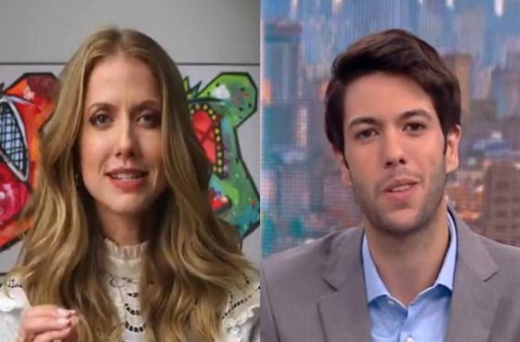 Campanha tem como protagonista a apresentadora Gabriela Prioli e o comentarista Caio Coppola - Foto: Reprodução