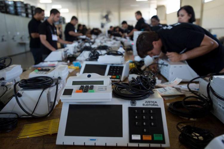 O questionamento sobre possíveis fraudes nas urnas eletrônicas gerou mais engajamento nas redes sociais - Foto: agência Brasil | Divulgação