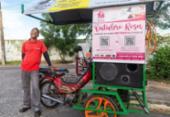Canções e jingles ajudam a turbinar as vendas de empreendedores em Itapuã | Foto: Gabrielle Guido | Agência Mural