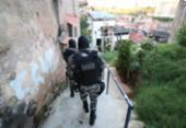 Quadrilha é alvo de operação policial no Nordeste de Amaralina | Foto: Alberto Maraux | SSP-BA