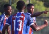 Sub-20: Bahia bate Fla e Vitória cai diante do Goiás | Maurícia da Matta | EC Bahia e Rosiron Rodrigues | Goiás EC