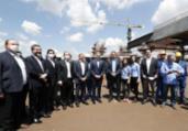 Bolsonaro visita obras da ponte entre Brasil e Paraguai   Alan Santos   PR