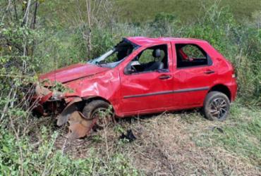 Criança de 3 anos morre em acidente de carro no município de Jaguaquara