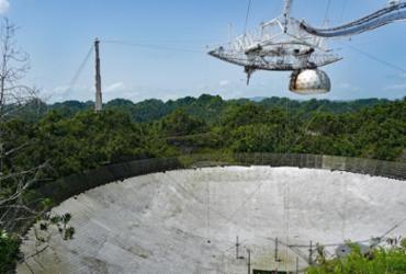 Telescópio histórico desmorona em Porto Rico | Reprodução: Wikipedia
