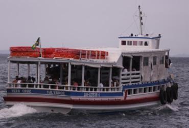 Travessia Salvador-Mar Grande está suspensa devido ao tempo chuvoso | Olga Leiria | Ag. A TARDE