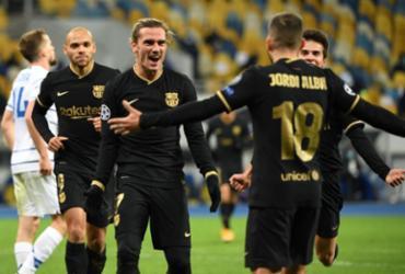 Barcelona vence Ferencváros pela Liga dos Campeões   Sergey Supinsky   AFP
