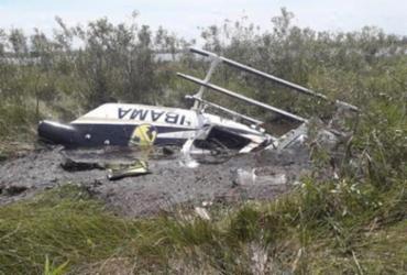 Bombeiro morre após helicóptero cair durante combate a incêndios no Pantanal   Divulgação