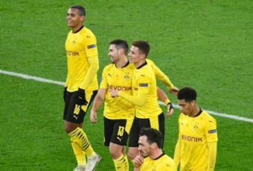 Borussia Dortmund empata com Lazio e vai às oitavas da Liga dos Campeões   Bernd Thissen   AFP