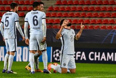 Chelsea goleia Sevilla com quatro gols de Giroud | Damien Meyer | AFP