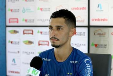 """Daniel faz apelo à torcida do Bahia: """"Continuem acreditando, tenham fé""""   Felipe Oliveira   E.C.Bahia"""
