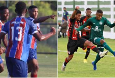 Bahia bate Flamengo pelo Brasileirão no Sub-20; Vitória cai diante do Goiás | Maurícia da Matta | EC Bahia e Rosiron Rodrigues | Goiás EC
