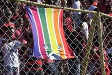 Vitória será julgado por crime de homofobia em Ba-Vi no Barradão | Reprodução | TV Bahêa
