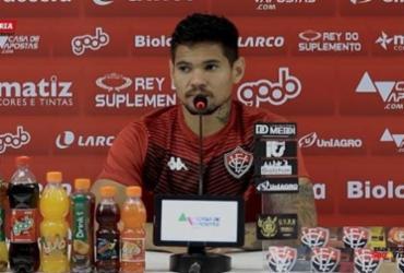Léo Ceará pede foco do Vitória na reta final da Série B | Reprodução | E.C.Vitória