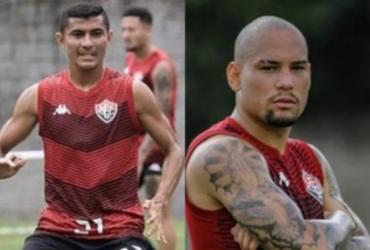 Vitória oficializa saídas de Juninho Quixadá e Gabriel Furtado | Letícia Martins | E.C.Vitória