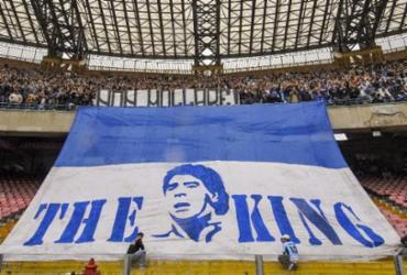 Estádio do Napoli é rebatizado como Diego Armando Maradona | Mário Laporta | AFP