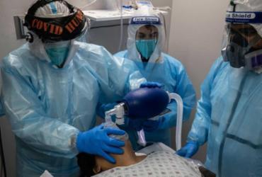 EUA batem recorde de hospitalizados por Covid-19 pela 1ª vez; mortes em um só dia também chegam ao seu maior número | Foto: Go Nakamura I Getty Images