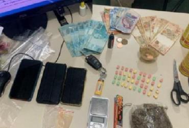 Três homens são presos com drogas em condomínio de luxo em Guarajuba
