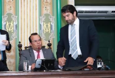Geraldo Júnior reitera apoio em Paulo Magalhães Jr na liderança da CMS | Divulgação