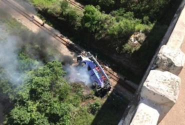 Sobe para 18 o número de mortos em acidente com ônibus em Minas | Reprodução | Redes Sociais