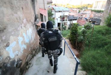 Quadrilha é alvo de operação policial no Nordeste de Amaralina | Alberto Maraux | SSP-BA