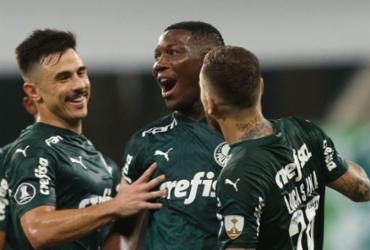 Palmeiras goleia Delfín e avança na Libertadores  