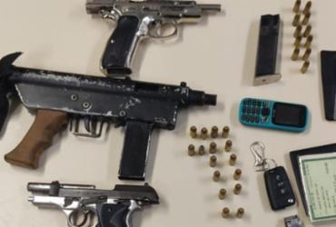 Trio suspeito de roubo de bancos é preso em Piatã | Divulgação | SSP