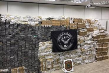 Policial militar é preso com 2,5 toneladas de cocaína no Rio de Janeiro | Divulgação | PF